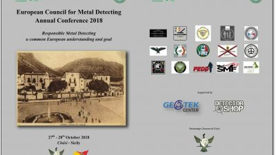 European Council of Metal Detecting – AGM 2018
